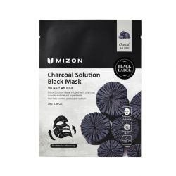 CHARCOAL SOLUTION BLACK MASK