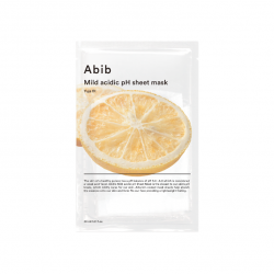 MILD ACIDIC PH SHEET MASK- YUJA FIT